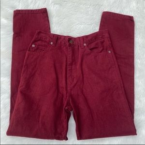 90's Vintage Retro High Waisted Jeans Size 7